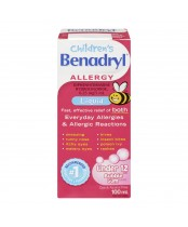 Benadryl Children's Allergy Antihistamine Liquid