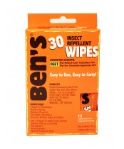 Ben's 30 Insect Repellent Wipes