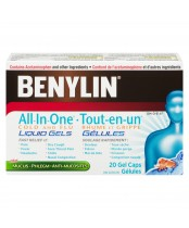 Benylin All-In-One Cold and Flu Liquid Gels