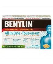 Benylin All-In-One Extra Strength Cold & Flu Caplet