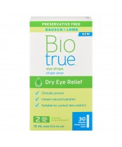 Biotrue Eye Drops Dry Eye Relief