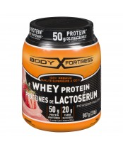 Body Fortress Whey Protein Powder Strawberry