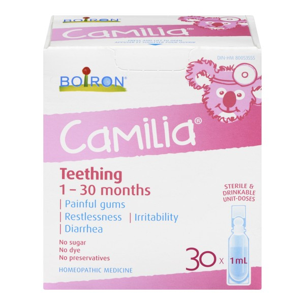 Buy Boiron Camilia Teething Homeopathic Medicine In Canada