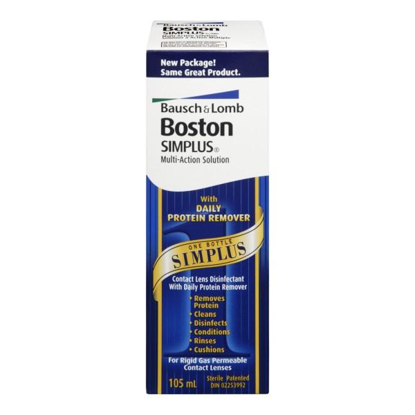 Coupon boston contact lens solution
