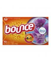Bounce Sheets With Febreze Spring