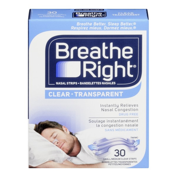 Buy Breathe Right Nasal Strips in Canada