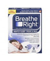 Breathe Right Nightly Sleep Nasal Strips