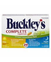 Buckley's Complete Liquid Gels with Daytime Mucus Relief