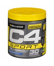 Cellucor C4 Sport Pre-Workout Supplument Blue Raspberry