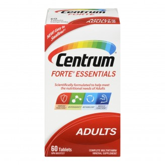 Centrum Forte Essentials Complete Multivitamin/Mineral Supplement Tablets
