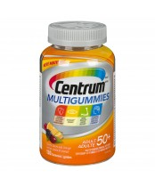 Centrum Multivitamin Multigummies Adult 50+ Cherry, Berry, Orange Flavours