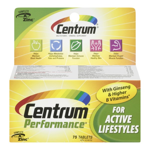 Buy Centrum Performance In Canada Free Shipping