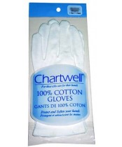 Chartwell 100% Cotton Gloves - Large
