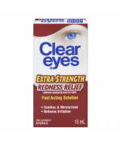 Clear Eyes Extra Strength Redness Relief Eye Drops