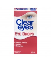 Clear Eyes Lubricating Eye Drops
