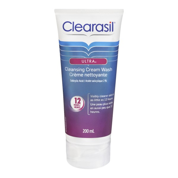 Buy Clearasil Ultra Cleansing Cream Wash In Canada Free