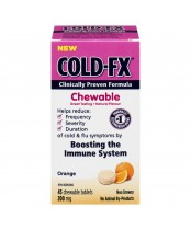 Cold-FX Chewable Orange