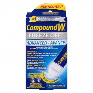 Compound W Freeze Off Advanced Wart Removal System