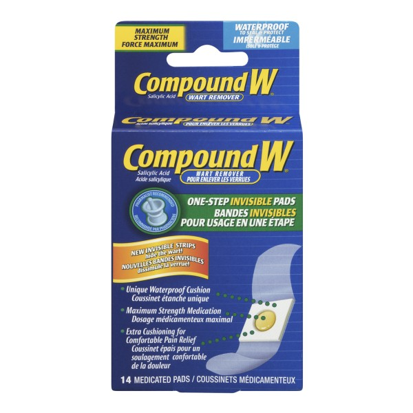 Buy Compound W Invisible Wart Remover Pads In Canada