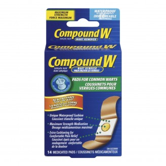 Compound W One Step Wart Remover Pads