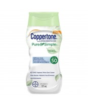 Coppertone Pure & Simple Mineral Sunscreen Lotion SPF 50