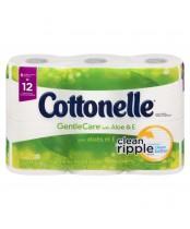 Cottonele Gentle Care Double Rolls Toilet Paper With Aloe & E