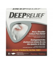 Deep Relief Ultra Strength Neck, Shoulder, & Back Pain Relief