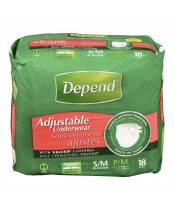 Depend Adjustable Underwear
