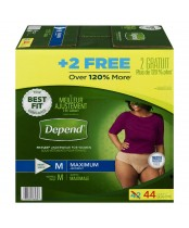 Depend Fit-Flex Medium Maximum Absorbency Underwear For Women