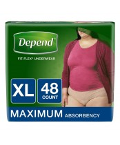Depend Fit-Flex Underwear for Women X-Large