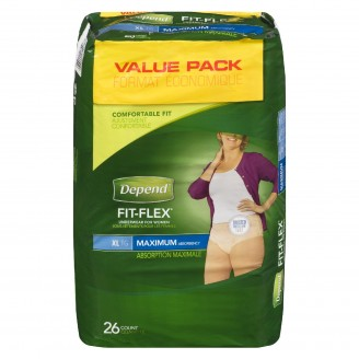 Depend Maximum Absorbency Extra-Large For Women Value Pack