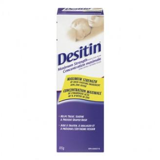 Desitin Maximum Strength Original Paste Diaper Rash Cream