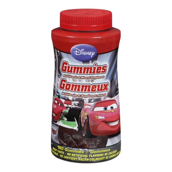 Cars multivitamin gummies