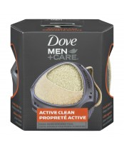 Dove Men + Care Active Clean Dual-Sided Shower Tool