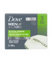Dove Men + Care Body and Face Bar, Extra Fresh