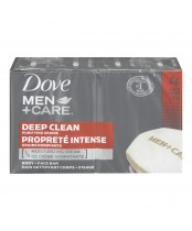 Dove Men + Care Deep Clean Purifying Grains Body + Face Soap Bar