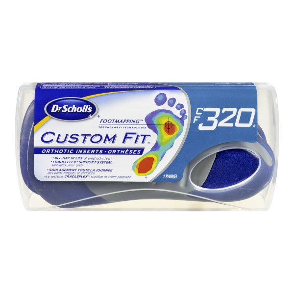 Scholl orthotic inserts