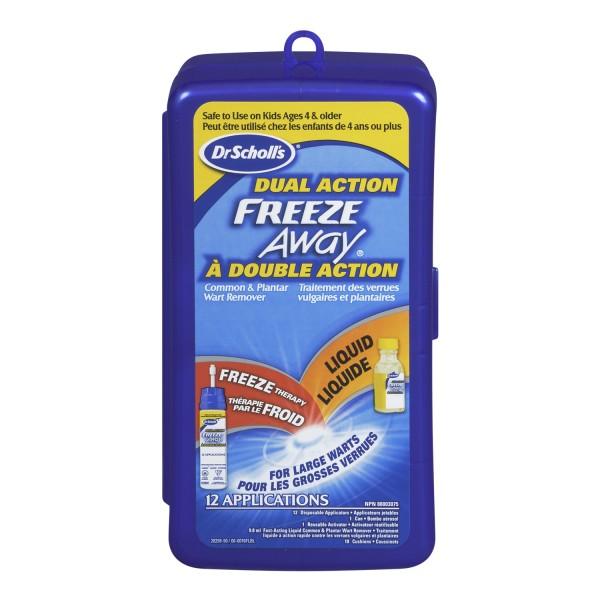 scholl freeze verruca & wart remover instructions