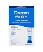 Dream Water Sleep Powder, Best Natural Sleep Aid, Melatonin, GABA, 5-HTP