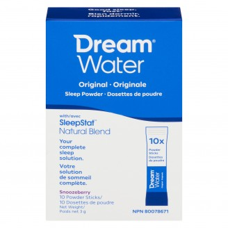 Dream Water Sleep Powder, Best Natural Sleep Aid, Melatonin, GABA, 5-HTP