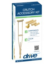 Drive Medical Crutch Accessory Replacement Kit