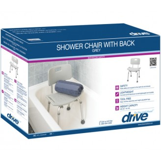 Drive Shower Chair with Back