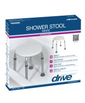 Drive Shower Stool White