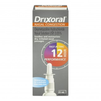Drixoral Nasal Congestion Spray Pump