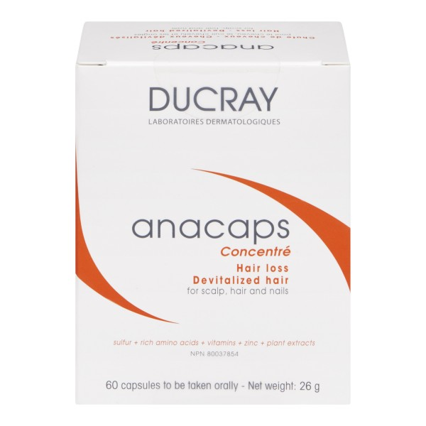 buy ducray hair loss anacaps capsules in canada free shipping. Black Bedroom Furniture Sets. Home Design Ideas