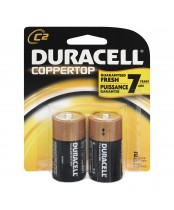 Duracell Coppertop C Alkaline Batteries