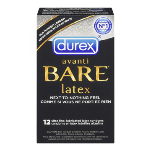 Image result for Durex Avanti Bare Latex