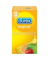 Durex Tropical Lubricated Latex Condoms
