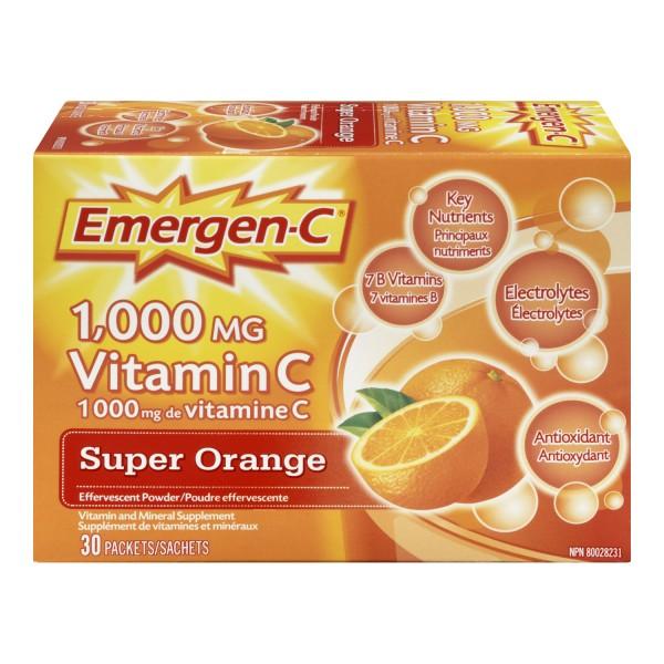 Buy Emergen-C Vitamin C Effervescent Powder in Canada ...