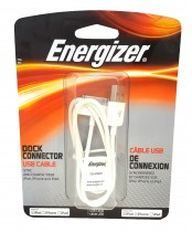 Energizer Dock Connector USB Cable